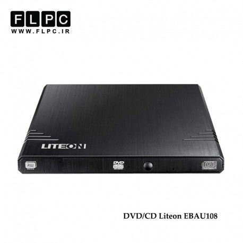 دی وی دی رایتر / پلیر اکسترنال لایت آن LiteON eBAU108 External DVD/CD Drive