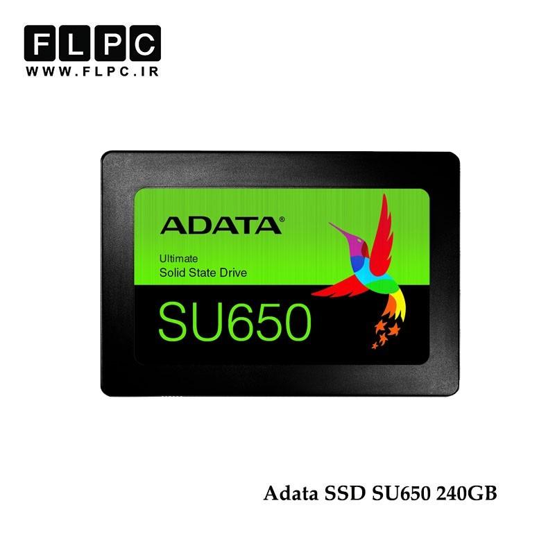 اس اس دی ای دیتا مدل SU650 حافظه ADATA SSD اینترنال ظرفیت 240 گیگابایت