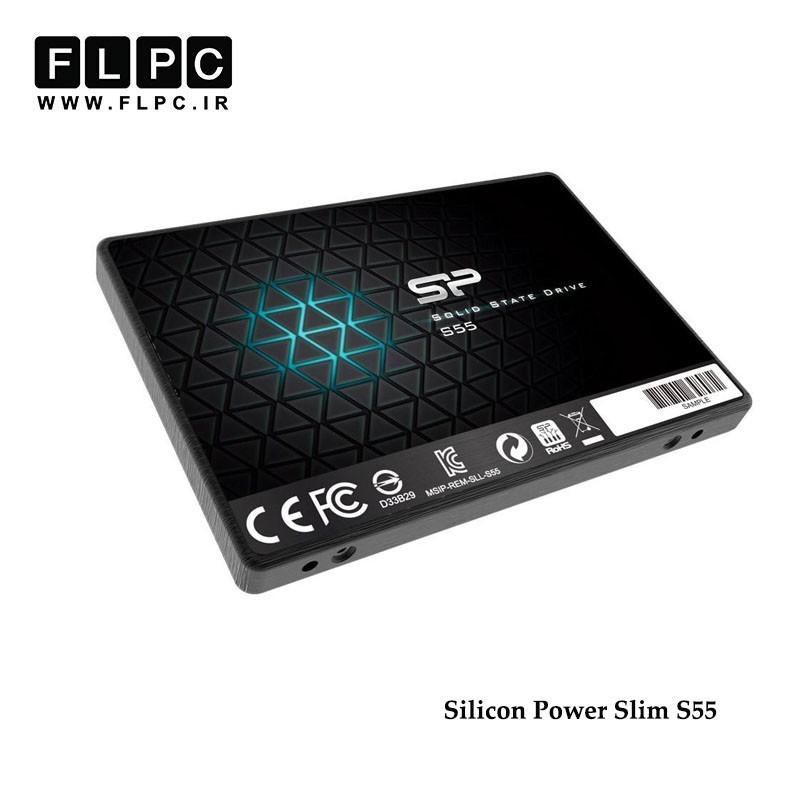 اس اس دی اینترنال سیلیکون پاور مدل Slim S55 ظرفیت 120 گیگابایت/Silicon Power Slim S55 SSD 120GB