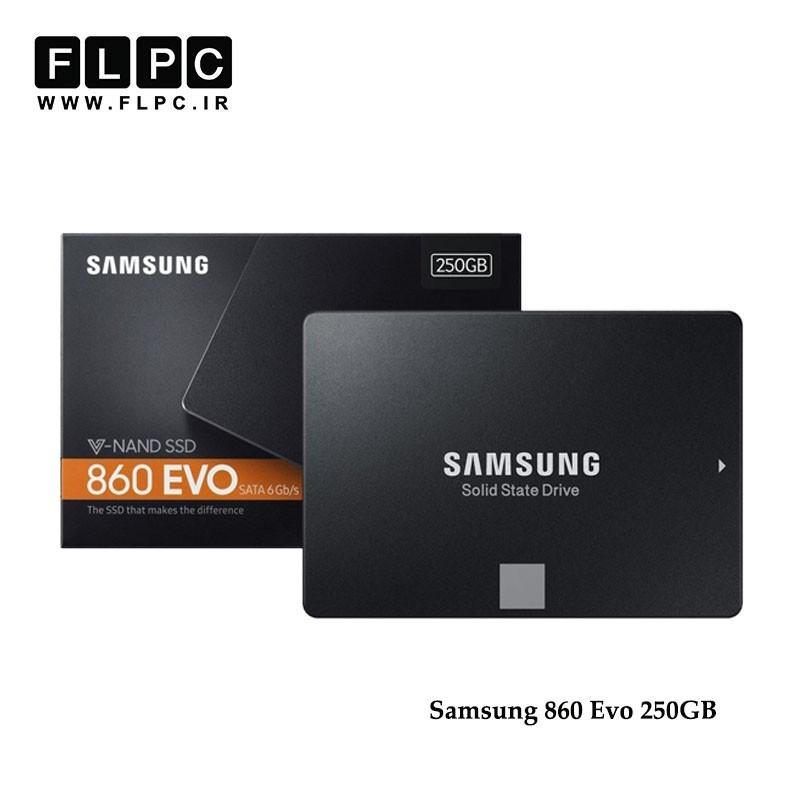 اس اس دی اینترنال سامسونگ مدل 860 Evo ظرفیت 250 گیگابایت/Samsung 860 Evo SSD Internal Drive 250GB
