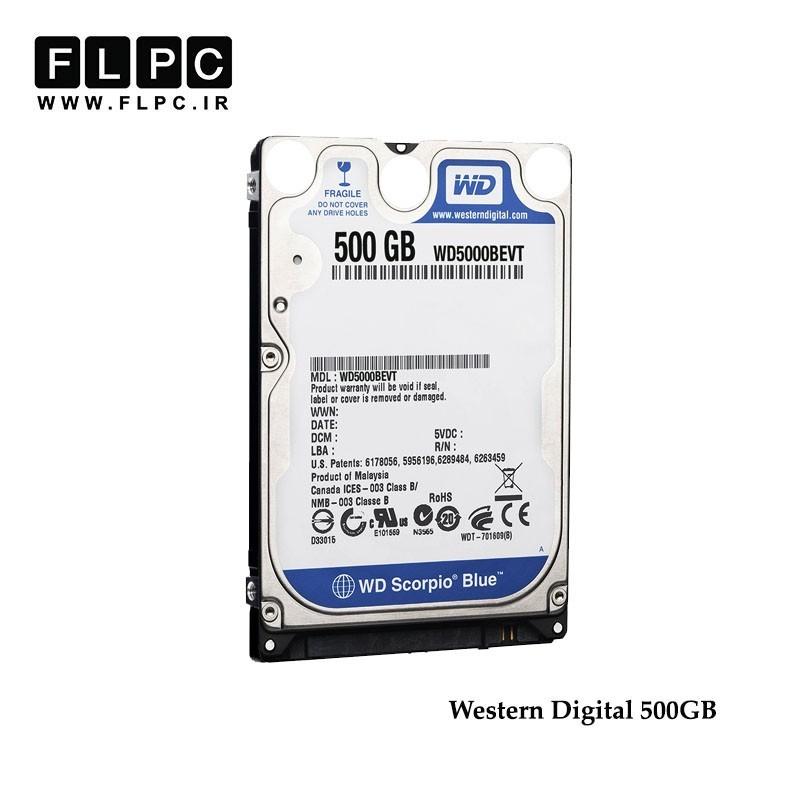 هارد ساتا وسترن دیجیتال 500 گیگابایت WD 500GB refurbished Laptop Hard Drive