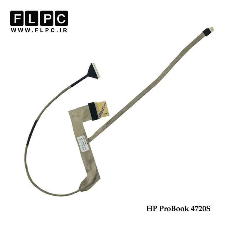فلت تصویر لپ تاپ اچ پی HP Probook 4720s Laptop Screen Cable _50-4GK01-001-012