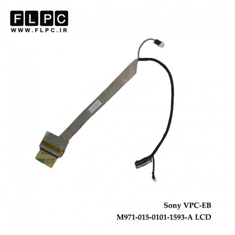 کابل فلت لپ تاپ سونی Sony Laptop LVDS Cable VPC-EB LCD 40pin