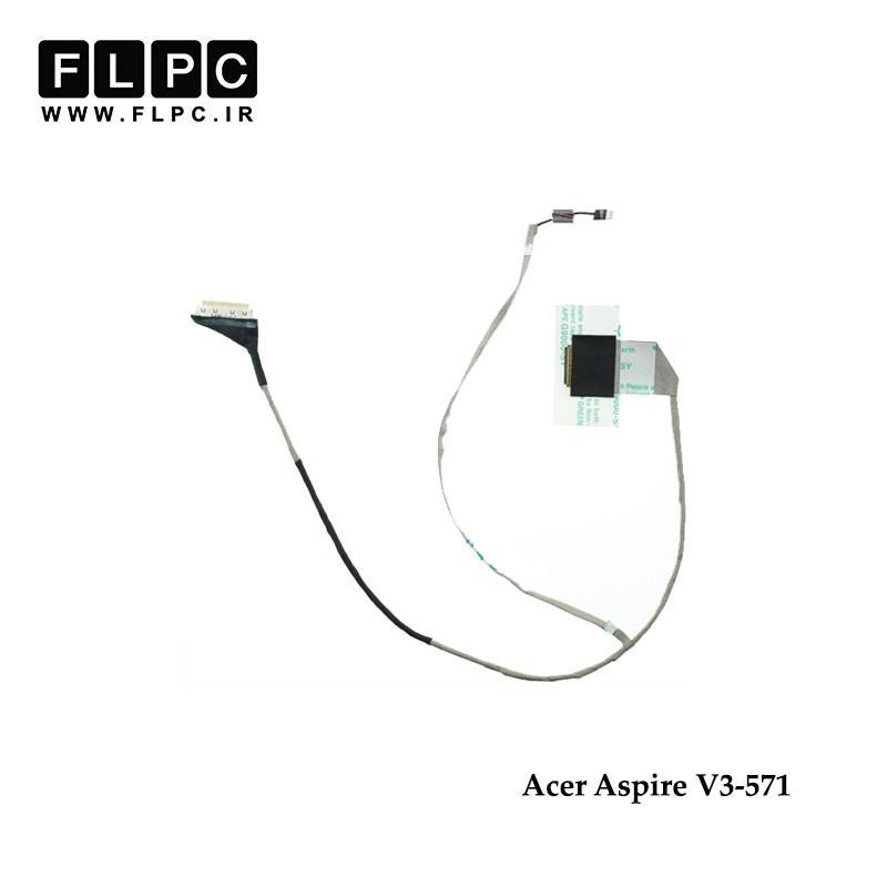 کابل فلت لپ تاپ ایسر Acer Laptop LVDS Cable V3-571 DC02001FO10 40Pin ضخیم