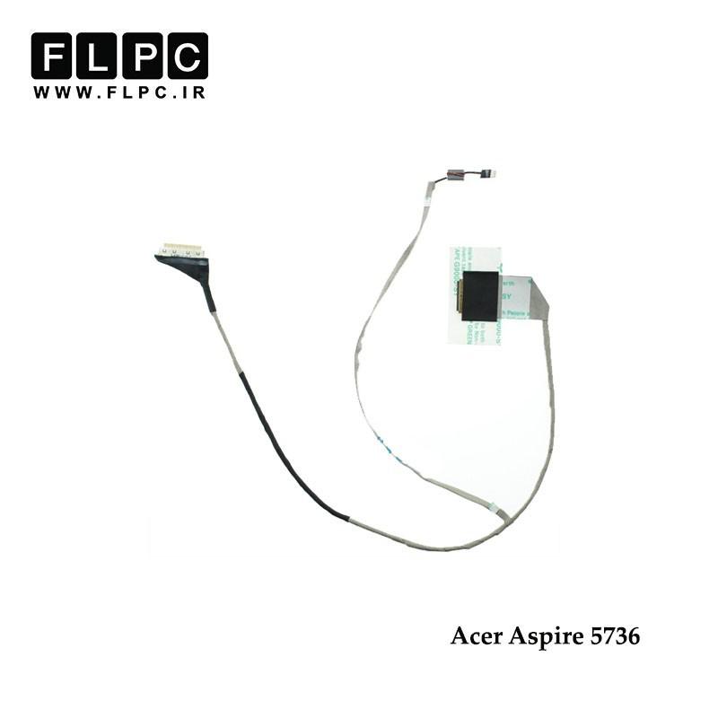 کابل فلت لپ تاپ ایسر Acer Laptop LVDS Cable 5736 DC02001FO10 40Pin ضخیم