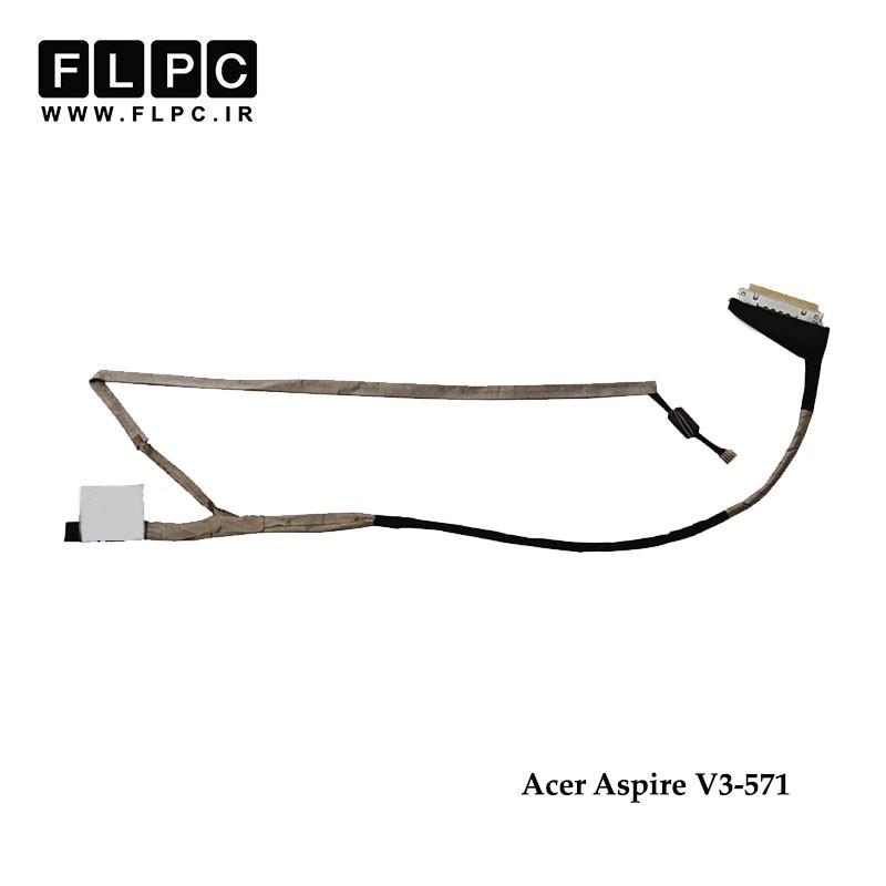 کابل فلت لپ تاپ ایسر Acer Laptop LVDS Cable V3-571 DC02C004600 30Pin
