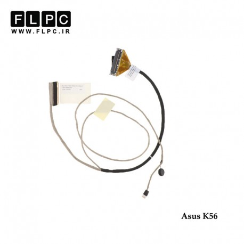 فلت تصویر لپ تاپ ایسوس Asus K56 Laptop Screen Cable _14005-00600000-40Pin فشاری