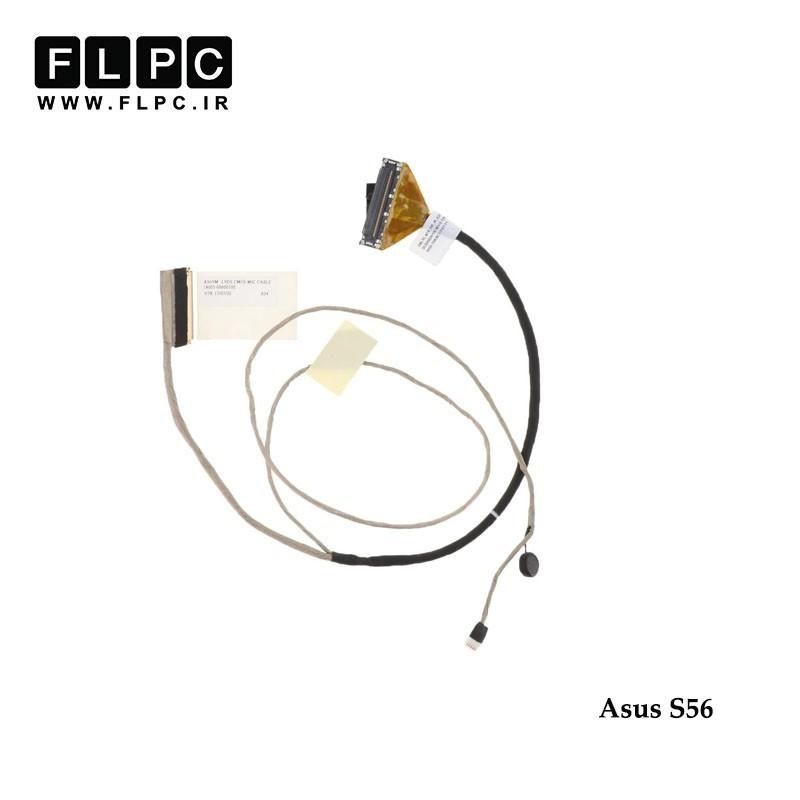 کابل فلت لپ تاپ ایسوس Asus LVDS cable S56 14005-00600000 40Pin فشاری