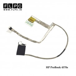 فلت تصویر لپ تاپ اچ پی HP Probook 4570s Laptop Screen Cable _50.4RY03.001-40pin فشاری