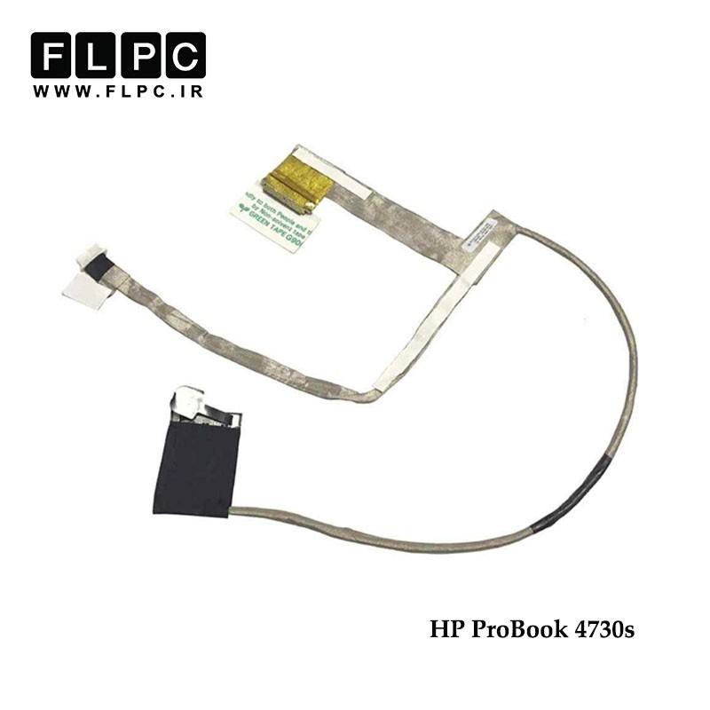 کابل فلت لپ تاپ اچ پی HP Laptop LVDS cable Probook 4730s 50.4RY03.001 40pin فشاری