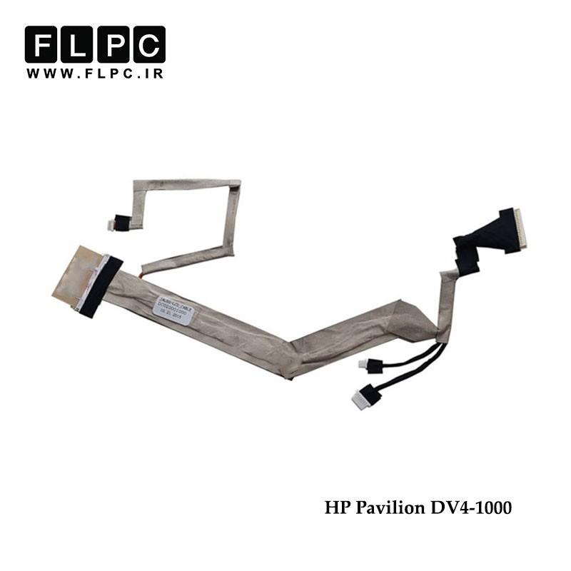 کابل فلت لپ تاپ اچ پی HP Laptop LVDS cable Pavilion dv4-1000 DC02000IO00 LCD