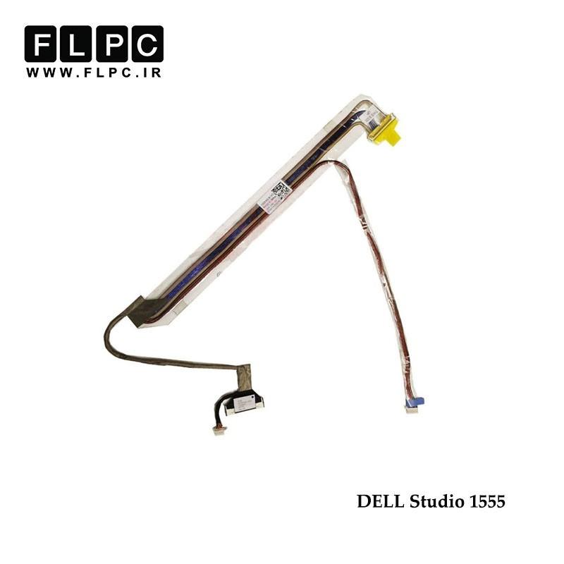 کابل فلت لپ تاپ دل Dell laptop LVDS Studio 1555 DD0FM8LC801 40pin فشاری
