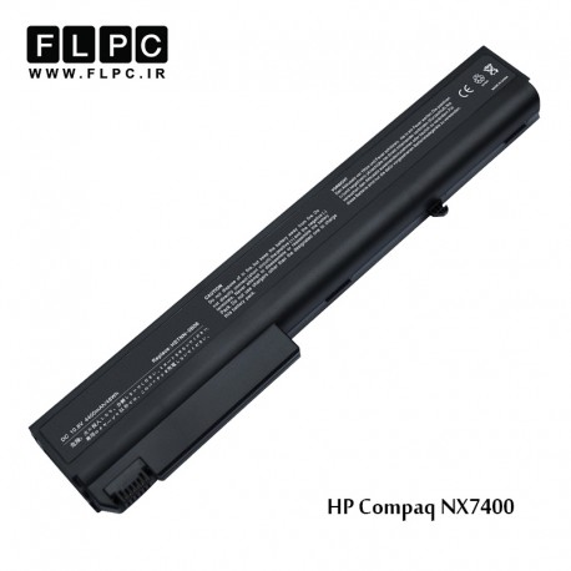 باطری لپ تاپ اچ پی HP Laptop Battery COMPAQ NX7400 6Cell مشکی