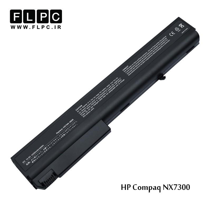 باطری لپ تاپ اچ پی HP Laptop Battery COMPAQ NX7300 6Cell مشکی