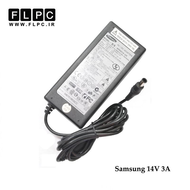 آداپتور لپ تاپ سامسونگ 14 ولت 3آمپر/ Samsung Laptop Adaptor 14V 3A