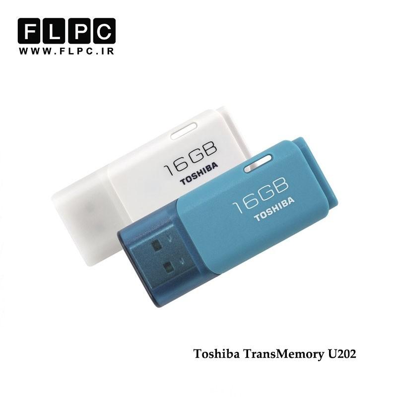 فلش مموری TransMemory U202 توشیبا 16 گیگابایت//Toshiba TransMemory U202 Flash Memory 16GB