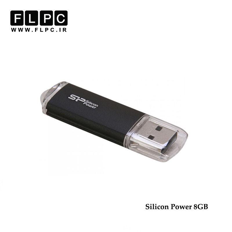 فلش مموری مدل Ultima II i-Series سیلیکون پاور ظرفیت 8 گیگابایت//Silicon Power Ultima II i-Series USB Flash Memory 8GB