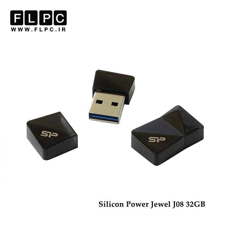فلش مموری مدل Jewel J08 سیلیکون پاور32 گیگابایت// Silicon Power Jewel J08 Flash Memory 32GB