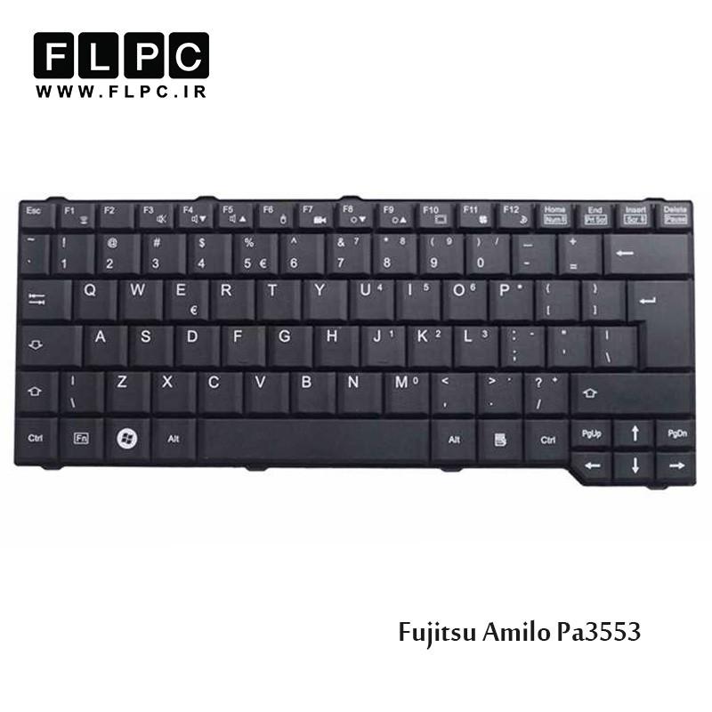 کیبورد لپ تاپ فوجیتسو Fujitsu Laptop Keyboard Amilo Pa3553 مشکی