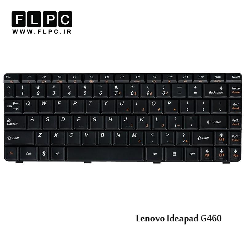 کیبورد لپ تاپ لنوو Lenovo Laptop Keyboard Ideapad G460 مشکی