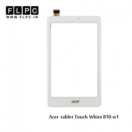 Acer w1-810 White tablet Touch تاچ تبلت ایسر سفید