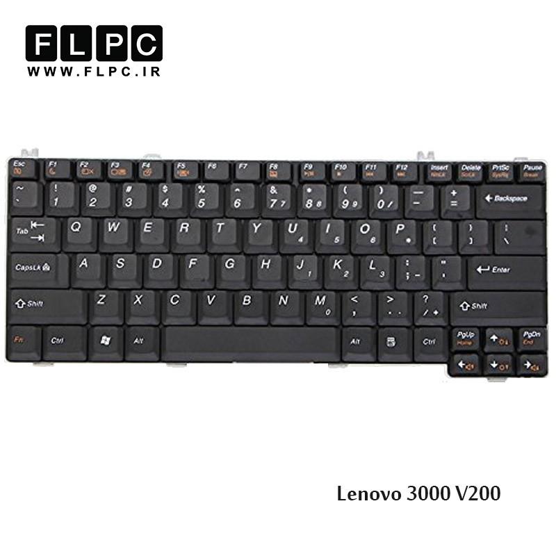 کیبورد لپ تاپ لنوو Lenovo Laptop Keyboard 3000 V200 مشکی