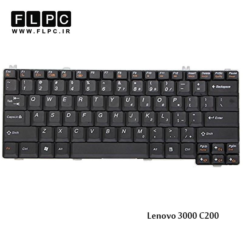 کیبورد لپ تاپ لنوو Lenovo Laptop Keyboard 3000 C200 مشکی