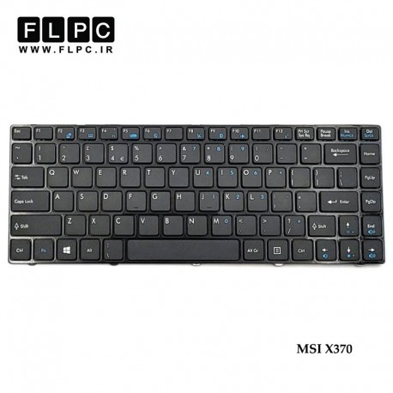 کیبورد لپ تاپ ام اس آی MSI Laptop Keyboard X370