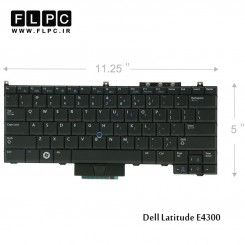 کیبورد لپ تاپ دل Dell Laptop Keyboard Latitude E4300 باموس