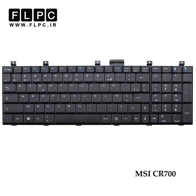 کیبورد لپ تاپ ام اس آی MSI Laptop Keyboard CR700 مشکی