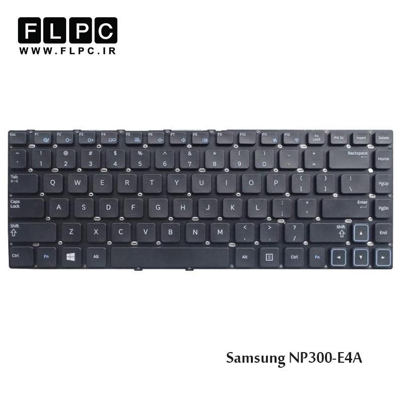 کیبورد لپ تاپ سامسونگ Samsung Laptop Keyboard NP300-E4A مشکی