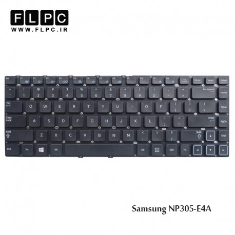 کیبورد لپ تاپ سامسونگ Samsung Laptop Keyboard NP305-E4A مشکی