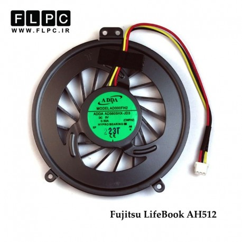 سی پی یو فن لپ تاپ فوجیتسو Fujitsu Laptop CPU Fan LifeBook AH512