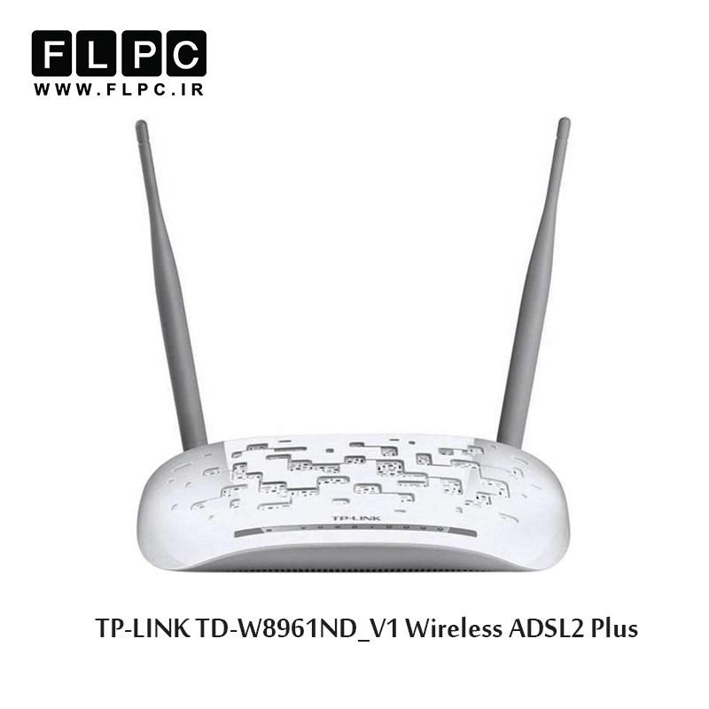مودم روتر بی سیم ADSL2 Plus تی پی-لینک مدل TD-W8961ND_V1