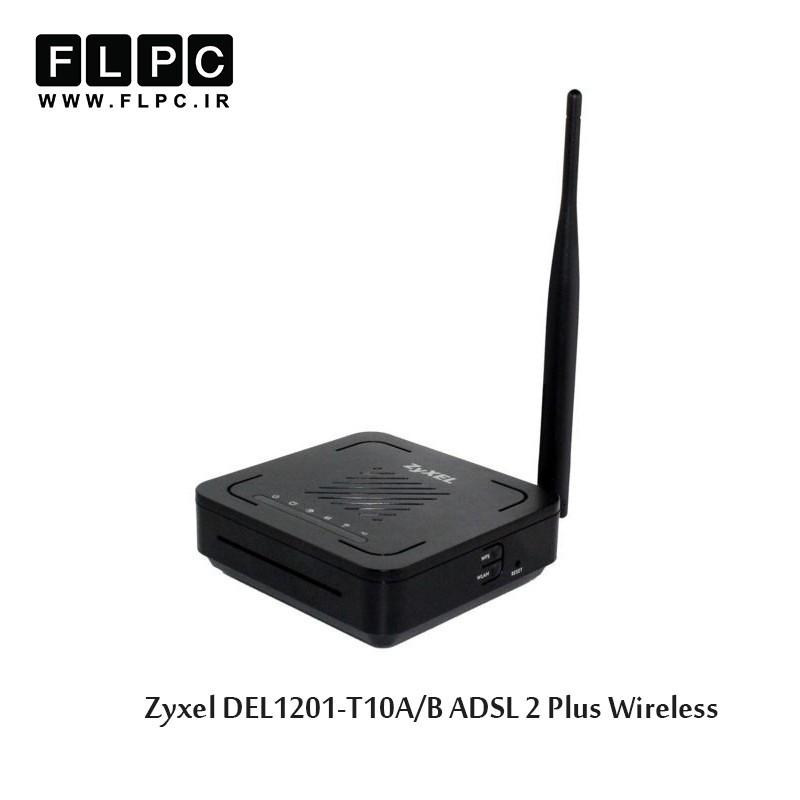 مودم روتر ADSL 2 Plus بی سیم زایکسل مدل DEL1201-T10A/B