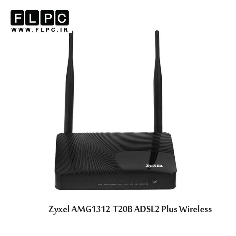 مودم ADSL2 Plus بی سیم زایکسل مدل AMG1312-T10B