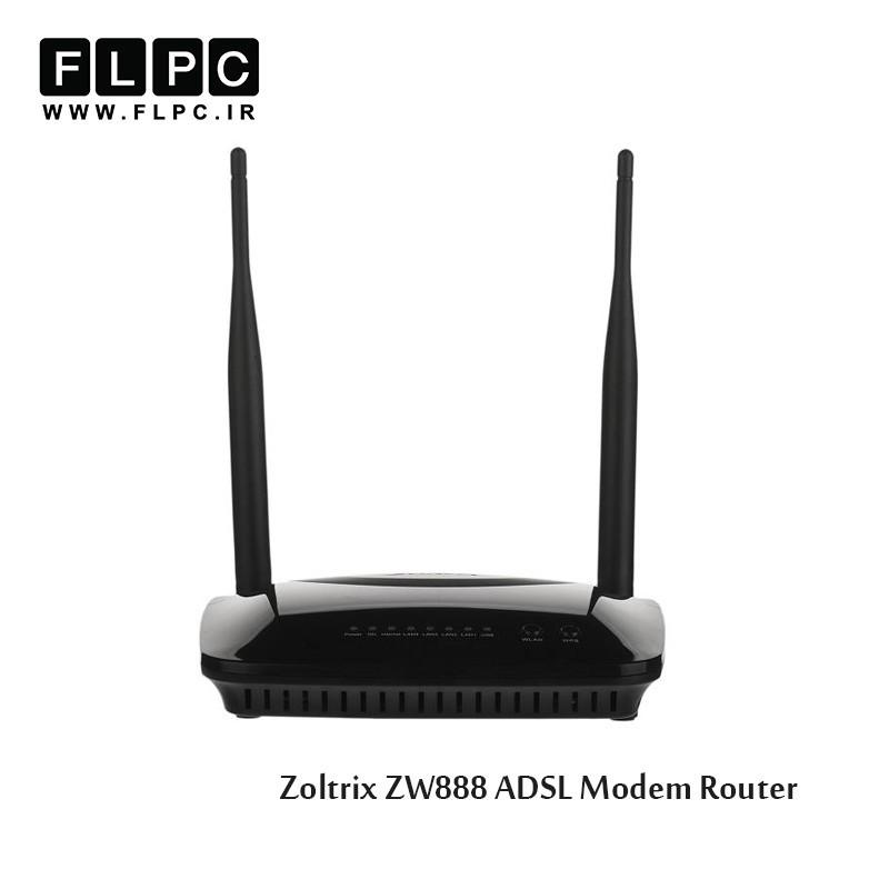 روتر مودم ADSL زولتریکس مدل ZW888
