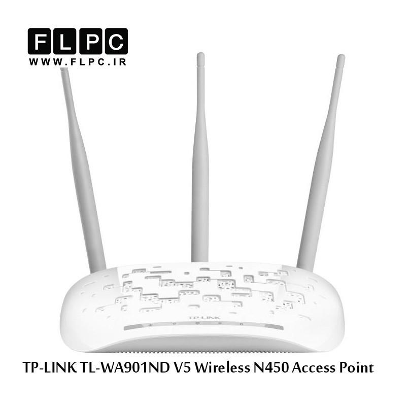 اکسس پوینت بی سیم N450 تی پی-لینک مدل TL-WA901ND V5