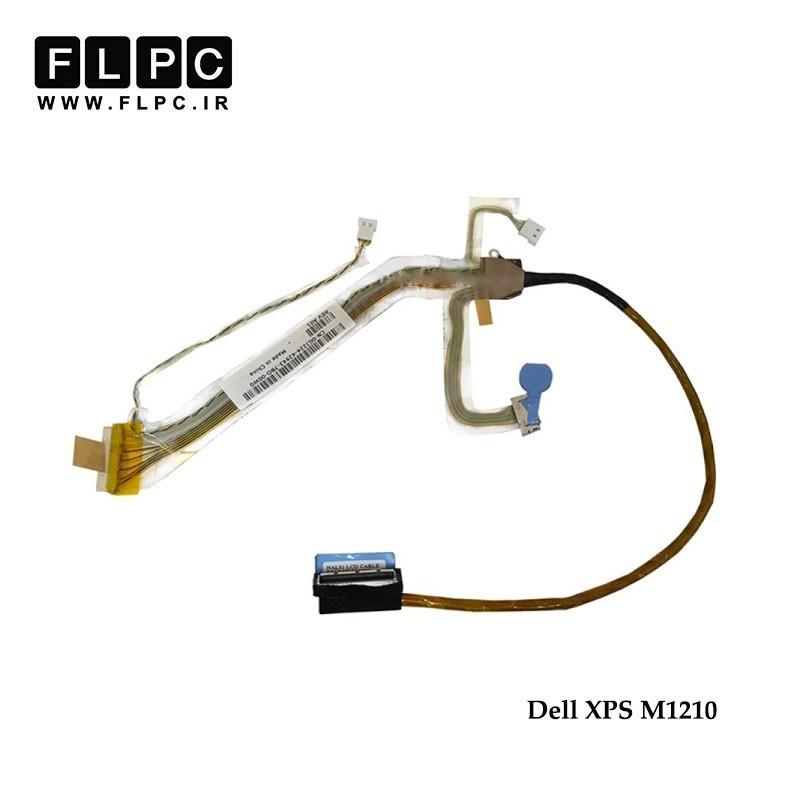 فلت تصویر لپ تاپ دل Dell XPS M1210 Laptop Screen Cable _DC020009T0L