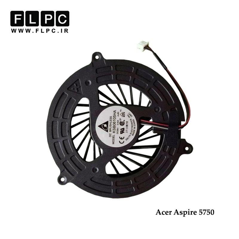 سی پی یو فن لپ تاپ ایسر Acer Laptop CPU Fan Aspire 5750//5750 گرد