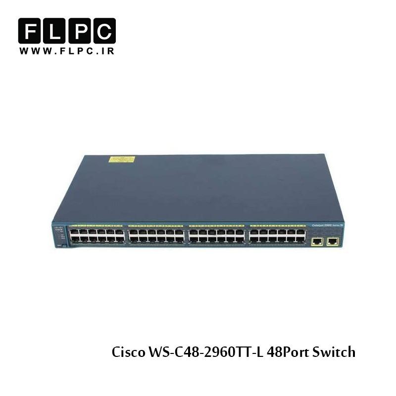سوییچ 48 پورت سیسکو مدل WS-C2960-48TT-L