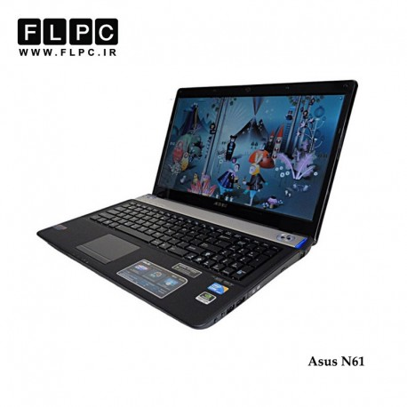 صفحه نمایش ال ای دی لپ تاپ ایسوس Screen Laptop LED ASUS N61DA-JX/ N61