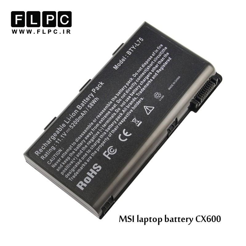 باطری لپ تاپ ام اس آی MSI laptop battery CX600 -6cell
