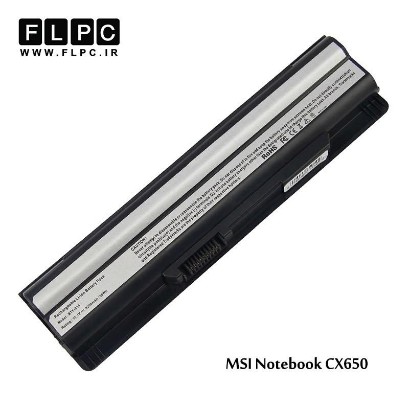 باطری باتری لپ تاپ ام اس آی MSI laptop battery CX650 -6cell
