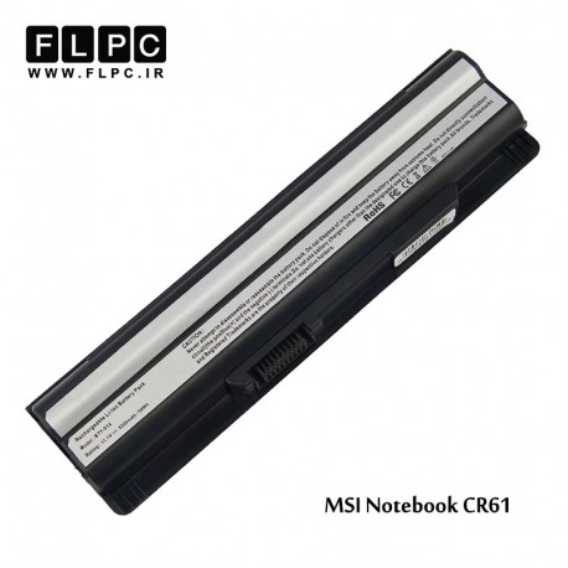 باطری باتری لپ تاپ ام اس آی MSI laptop battery CR61 -6cell