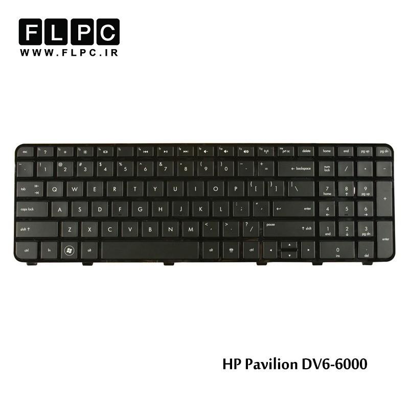 کیبورد لپ تاپ اچ پی HP laptop keyboard Pavilion DV6-6000