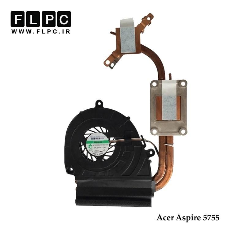 هیت سینک و فن لپ تاپ ایسر Acer Aspire 5755 Laptop Heatsink+fan گرافیک دار