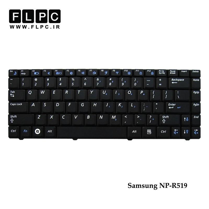 تصویر کیبورد لپ تاپ سامسونگ NP-R519 مشکی Samsung NP-R519 Laptop Keyboard