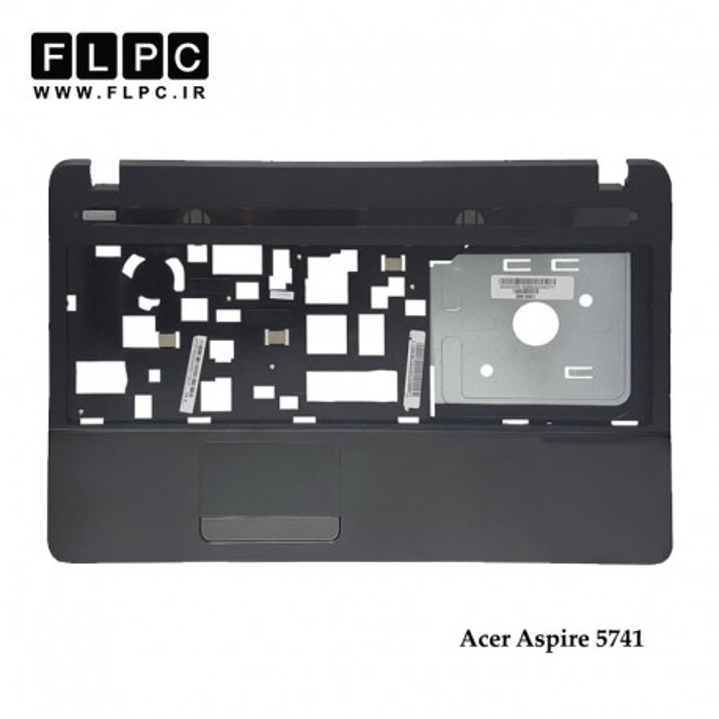 قاب دور کیبورد لپ تاپ ایسر Acer Aspire 5741 Laptop Palmrest Case _Cover C نوک مدادی - رم ریدر سمت راست