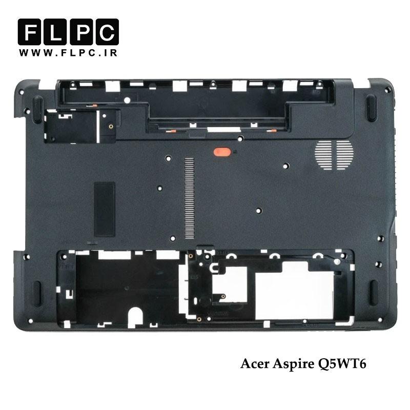 قاب کف لپ تاپ ایسر Acer Aspire Q5WT6 Laptop Bottom Case _Cover D مشکی